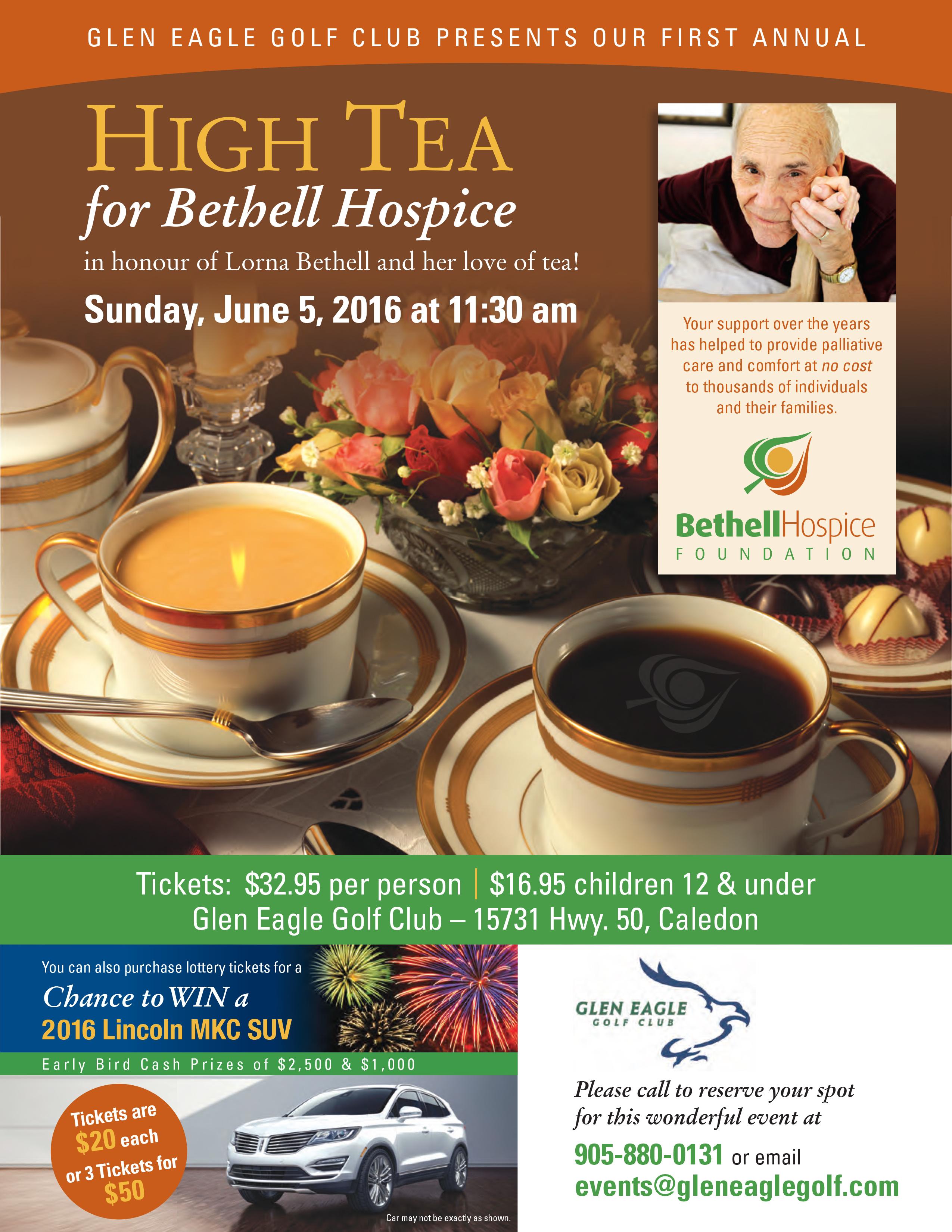 Bethell Hospice High Tea