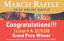 March 50/50 Raffle
